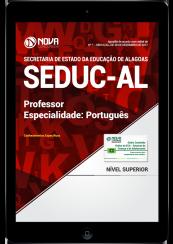Download Apostila SEDUC-AL - Professor - Especialidade: Português