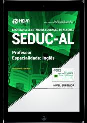 Download Apostila SEDUC-AL PDF - Professor - Especialidade: Inglês