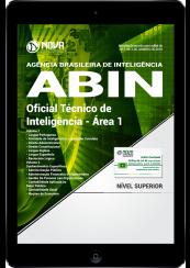 Download Apostila ABIN PDF - Oficial Técnico de Inteligência - Área 1