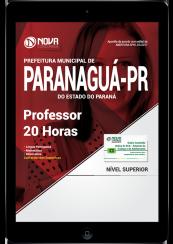Download Apostila Prefeitura de Paranaguá - PR PDF - Professor 20 Horas