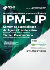 Apostila IPM João Pessoa - Comum as Especialidades de Agente Previdenciário e Técnico Previdenciário