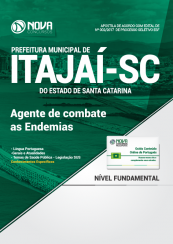 Apostila Prefeitura de Itajaí - SC - Agente de Combate as Endemias