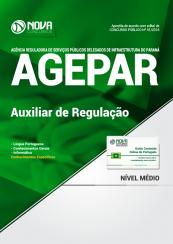 Apostila AGEPAR-PR - Auxiliar de Regulação