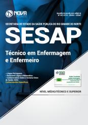 Apostila SESAP-RN - Técnico em Enfermagem e Enfermeiro