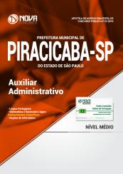 Apostila Prefeitura de Piracicaba - SP - Auxiliar Administrativo