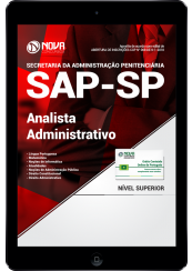 Download Apostila SAP-SP PDF - Analista Administrativo