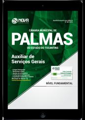 Download Apostila Câmara Municipal de Palmas - TO PDF - Auxiliar de Serviços Gerais