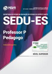 Apostila SEDU-ES - Professor P - Pedagogo