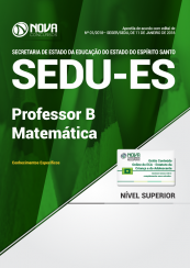 Apostila SEDU-ES - Professor B - Matemática
