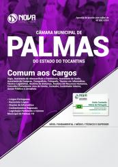 Apostila Câmara Municipal de Palmas - TO - Comum a Diversos Cargos