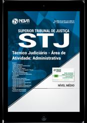 Download Apostila STJ PDF - Técnico Judiciário - Área de atividade: Administrativa