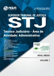 Apostila STJ - Técnico Judiciário - Área de atividade: Administrativa