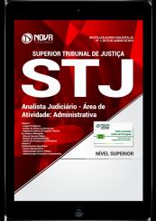 Download Apostila STJ PDF - Analista Judiciário - Área de atividade: Administrativa