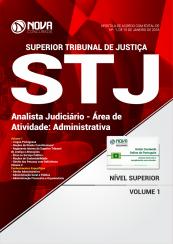 Apostila STJ - Analista Judiciário - Área de atividade: Administrativa