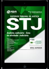 Download Apostila STJ PDF - Analista Judiciário - Área de Atividade: Judiciária