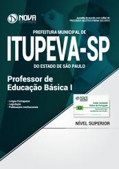 Apostila Prefeitura de Itupeva - SP - Professor de Educação Básica I