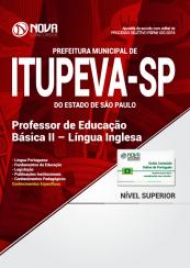 Apostila Prefeitura de Itupeva - SP - Professor de Educação Básica II - Língua Inglesa