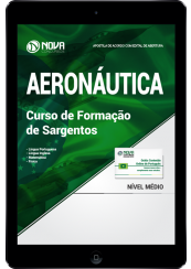 Download Apostila Aeronáutica (FAB) PDF - Curso de Formação de Sargentos - EEAR