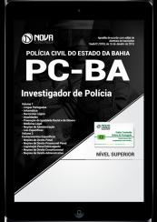 Download Apostila PC-BA PDF - Investigador de Polícia