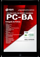 Download Apostila PC-BA PDF - Delegado de Polícia