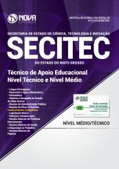 Apostila SECITEC-MT - Técnico de Apoio Educacional (Nível Médio e Técnico)