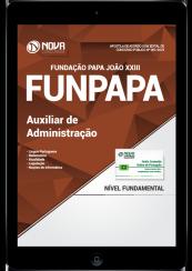 Download Apostila FUNPAPA-PA PDF - Auxiliar de Administração
