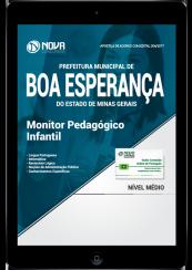 Download Apostila Prefeitura de Boa Esperança - MG PDF - Monitor Pedagógico Infantil