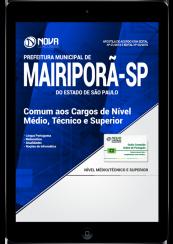 Download Apostila Prefeitura de Mairiporã - SP PDF - Comum aos Cargos de Nível Médio, Técnico e Superior