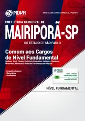 Apostila Prefeitura de Mairiporã - SP - Comum aos Cargos de Nível Fundamental