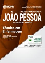 Apostila Prefeitura de João Pessoa - PB - Técnico em Enfermagem
