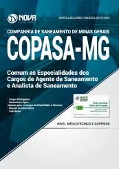 Apostila COPASA - Agente de Saneamento e Analista de Saneamento