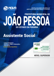 Apostila Prefeitura de João Pessoa - PB - Assistente Social