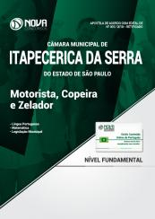 Apostila Câmara de Itapecerica da Serra - SP - Motorista, Copeira e Zelador