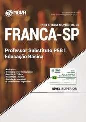 Apostila Prefeitura de Franca - SP - Professor Substituto PEB I: Educação Básica