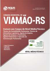 Apostila Câmara Municipal de Viamão - RS - Cargos de Nível Médio