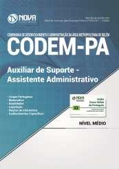 Apostila CODEM - PA - Auxiliar de Suporte e Assistente Administrativo