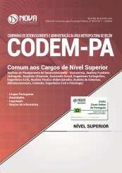 Apostila CODEM - PA - Comum aos Cargos de Nível Superior