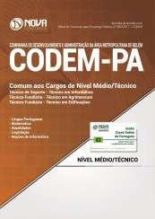 Apostila CODEM - PA - Comum aos Cargos de Nível Médio/Técnico