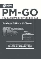 Apostila PM-GO - Soldado do QPPM - 2ª Classe