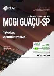 Apostila Câmara Municipal de Mogi Guaçu - SP - Técnico Administrativo