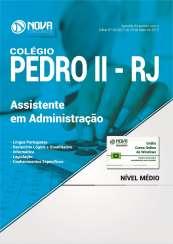 Apostila Colégio Pedro II - RJ - Assistente em Administração
