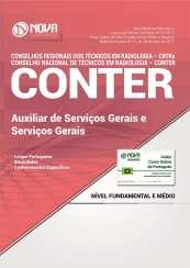 Apostila CONTER e CRTRs - Auxiliar de Serviços Gerais/ Serviços Gerais