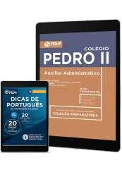 Download Apostila Colégio Pedro II PDF - Auxiliar Administrativo