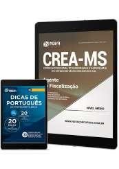 Download Apostila CREA-MS Pdf - Agente de Fiscalização