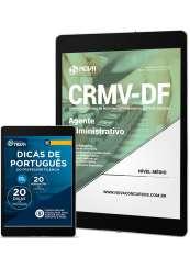 Download Apostila CRMV-DF Pdf - Agente Administrativo