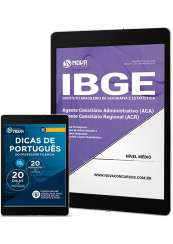 Download Apostila IBGE Pdf  - Agente Censitário Administrativo (ACA) e Regional (ACR)