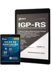 Download Apostila IGP-RS Pdf - Comum aos Cargos de Perito