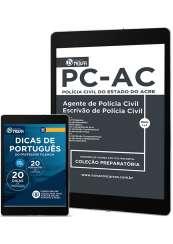 Download Apostila PC-AC PDF - Agente e Escrivão de Polícia Civil