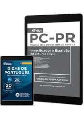 Download Apostila PC-PR 2017 PDF- Investigador e Escrivão de Policia