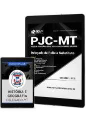 Download Apostila PJC-MT PDF - Delegado de Policia Substituto